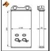 Радиатор печки 1.9 2.0 2.5DCI 01-