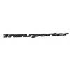 """Надпись """"Transporter"""" VW T4 (для задней двери) (хром)"""