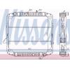 Радиатор системы охлаждения пластик/медь 510x623x33 дв. OM366