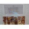 Комплект шайб (медных), 200 шт. (6x10 6x12 9x14 10x14 12x16 12x18 14)