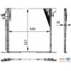 Радиатор кондиционера, 96-03 W638