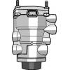 Клапан управления тормозами прицепа