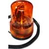 Проблесковый маячок ,стробоскоп, мигалка 24V (магнит) желтый